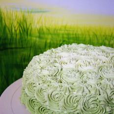 青汁木糖醇蛋糕