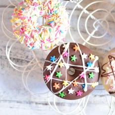 黑白巧克力甜甜圈