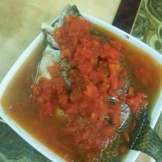 茄汁撞蒸鱼