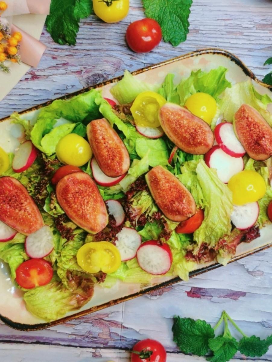 营养又美味的无花果沙拉的做法
