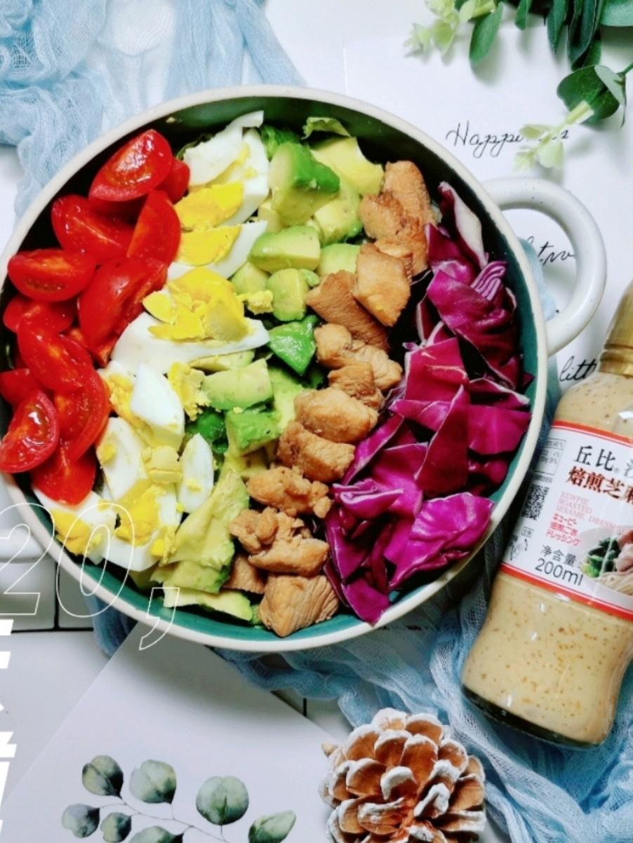 营养美味的彩虹