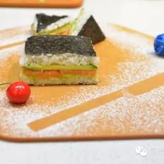 【减脂寿司三明治便当】
