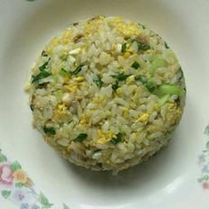 香菇青菜蛋炒饭