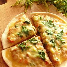 沙姜肉酱薄底披萨