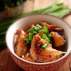 烤肉酱焗鸡