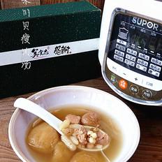 苏泊尔苹果川贝瘦肉汤