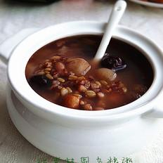 红枣桂圆杂粮粥