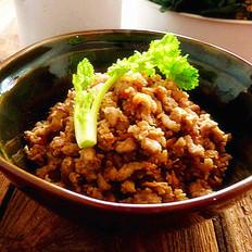 香菇虾米猪肉臊