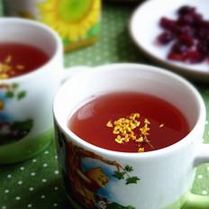 蔓越莓陈皮桂花茶