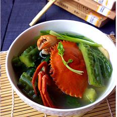 螃蟹煮苦瓜