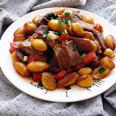 凤眼果焖羊肉