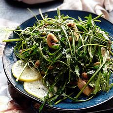 芝麻菜温拌蘑菇