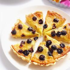 蓝莓梨子挞