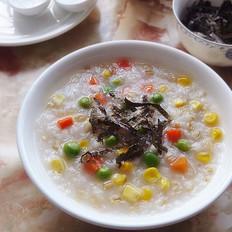 瑶柱蔬菜杂粮粥