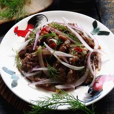 梅子洋葱拌牛肉