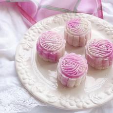 蔓越莓乳酪冰皮月饼