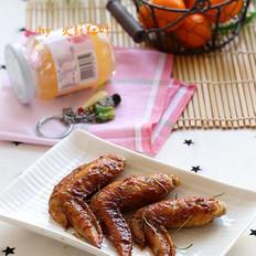果酱烤鸡翅