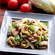 白菜回锅肉