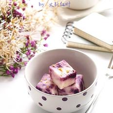 蜜汁紫薯山药