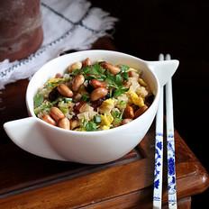 腊肉生炒糯米饭