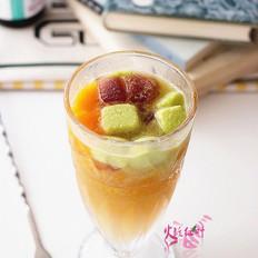 活茶菌酒酿鲜果特饮