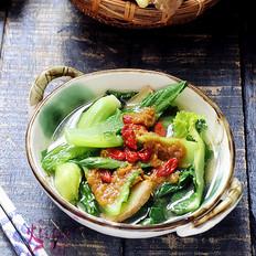 姜茸拌芥菜
