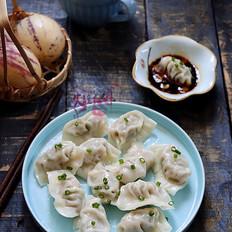 莲藕鲜肉饺子