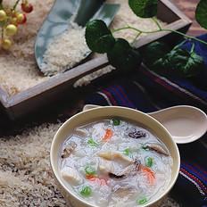 香菇鸡肉胚芽米粥