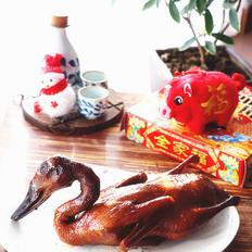 年夜饭硬菜之五香烤鸭
