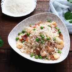 培根豌豆炒饭