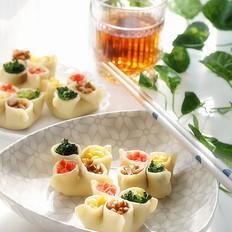 香芋蔬菜四喜饺子