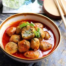 呷哺茄汁芹菜鱼丸