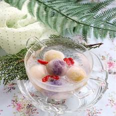 雪燕水晶汤圆