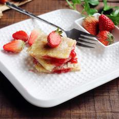 草莓馅饼的做法