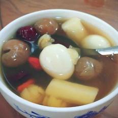 山药桂圆红枣莲子枸杞汤