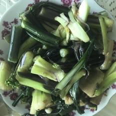 武汉特色菜---红菜苔