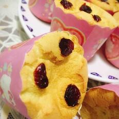 杯体蔓越莓马芬蛋糕