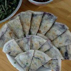 紫薯糯米饼