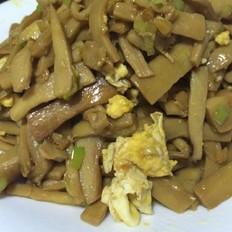 姜汁蛋炒杏鲍菇