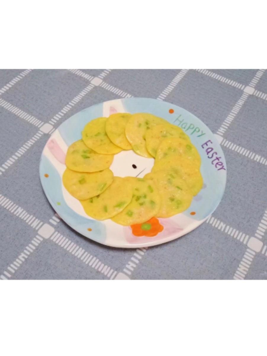 丝瓜鲜虾饼 (宝宝辅食)