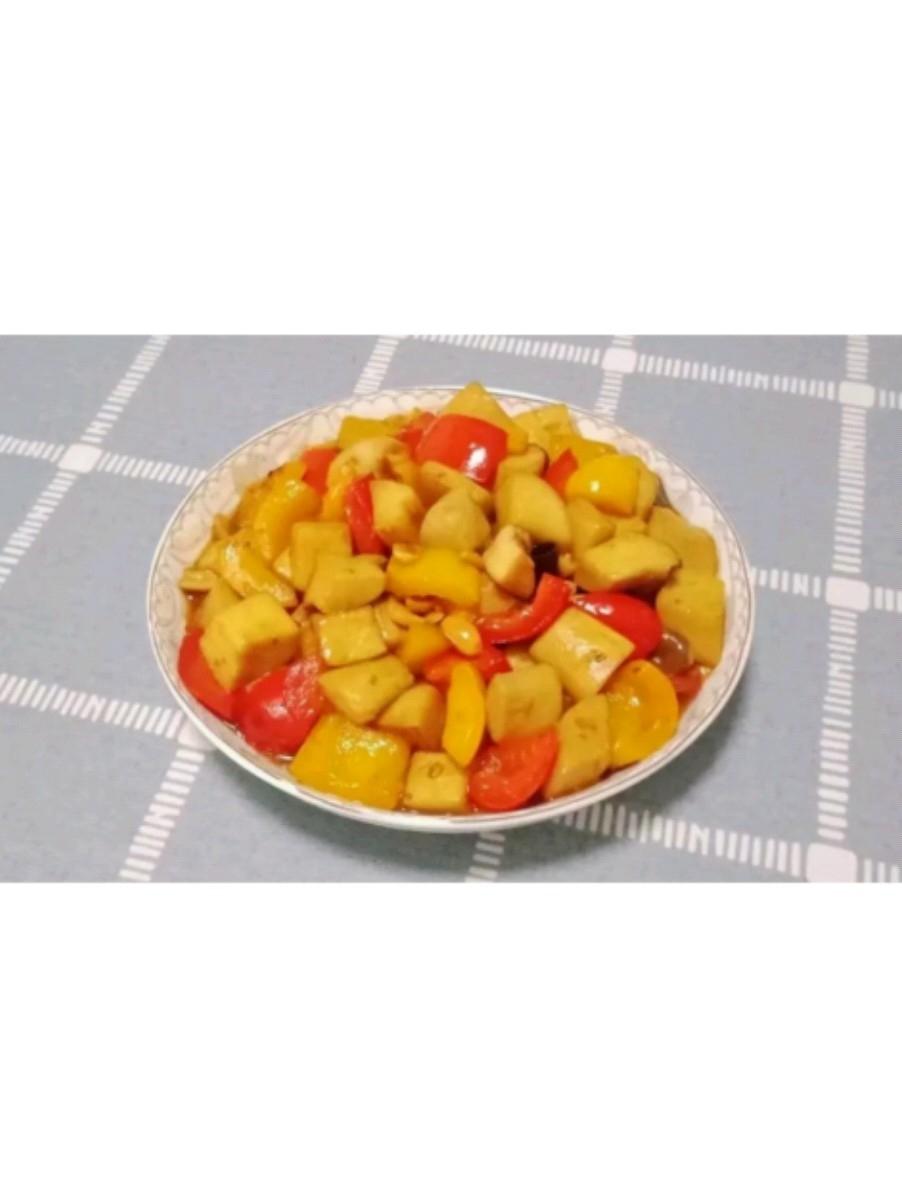 彩椒杏鲍菇