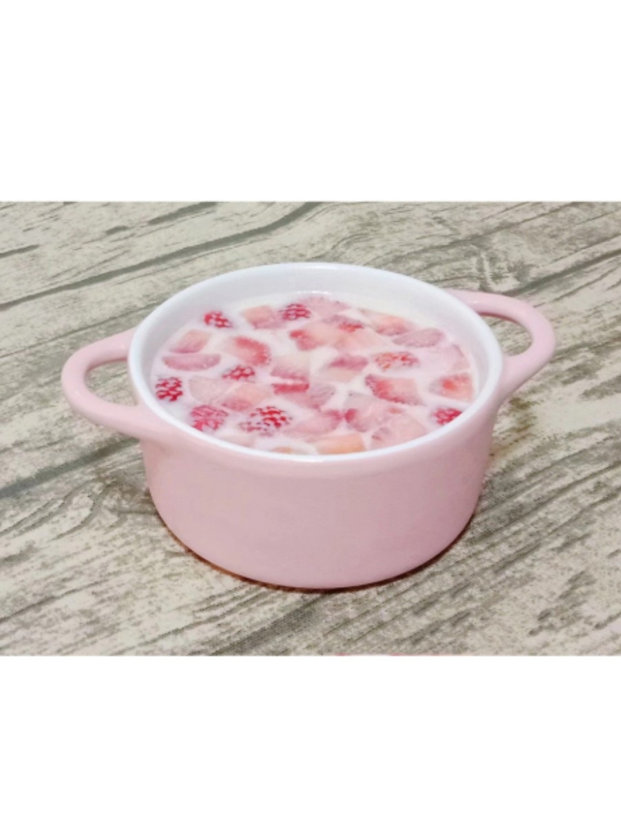 草莓奶冻的做法大全
