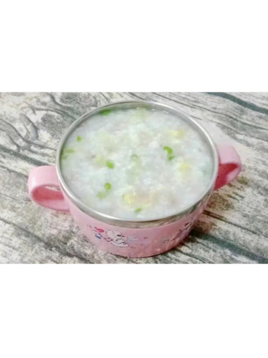 猪肉白菜粥 (宝宝辅食)