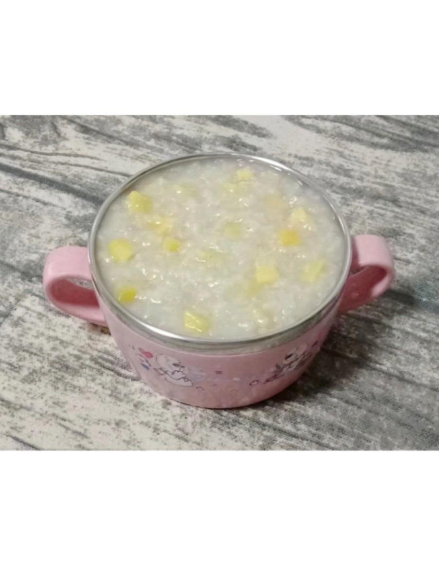 香甜核桃粥 (宝宝辅食)