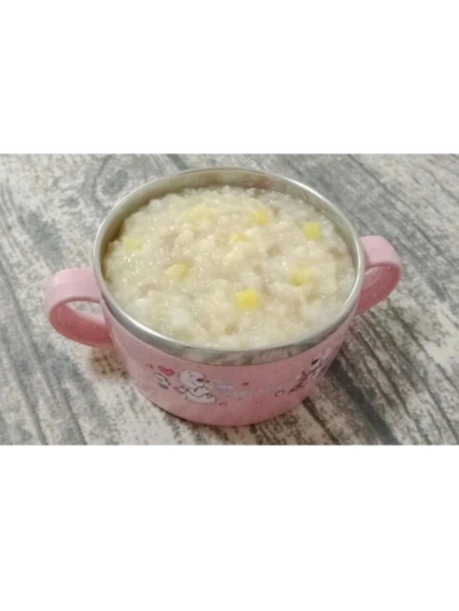 小米山药苹果粥 (宝宝辅食)