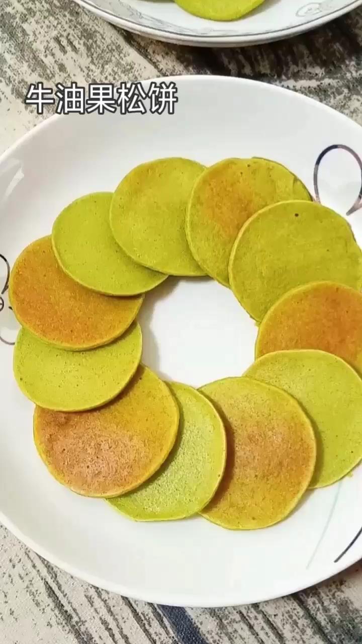 牛油果松饼 (宝宝辅食)