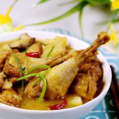 山鸡炖土豆