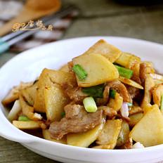 豆腐炒土豆