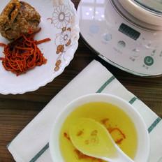 虫草花炖肉汤