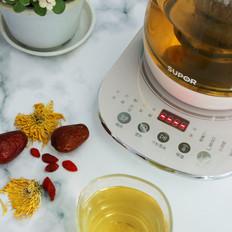 红枣枸杞菊花茶的做法